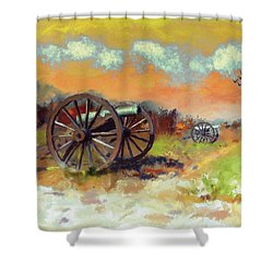 Shower Curtain featuring the photograph Days Of Discontent by Lois Bryan