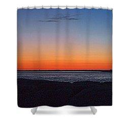 Days Pre Dawn Shower Curtain