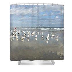 Daytona Beach 2 Shower Curtain