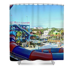 Daytona Lagoon Shower Curtain
