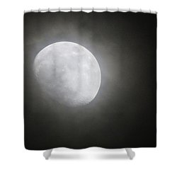Daytona Moon Shower Curtain