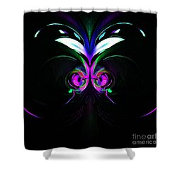 Dazed And Confused Shower Curtain by Blair Stuart