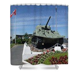 Dd Tank Shower Curtain