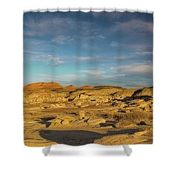 De Na Zin Wilderness Sunset Shower Curtain