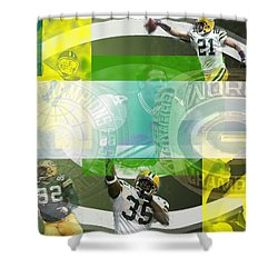 de Wine and Cheese Shower Curtain by Jimi Bush