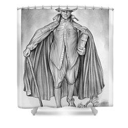 Deacon Samuel Chapin Shower Curtain