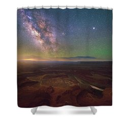 Shower Curtain featuring the photograph Dead Horse Dreams by Darren White