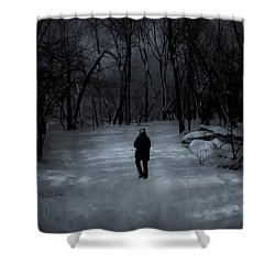 Dead Of Winter Shower Curtain