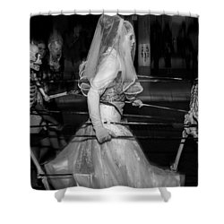 Deadly Love Shower Curtain