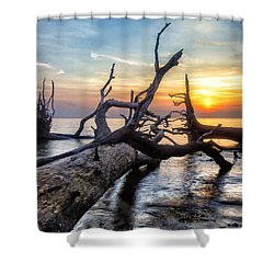 Deadwood Morning Shower Curtain