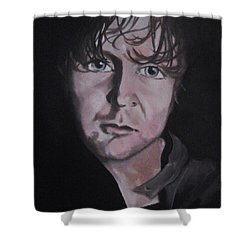Dean Ambrose Portrait Shower Curtain