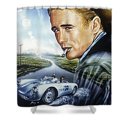 Dean Story Shower Curtain
