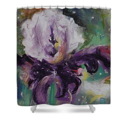 Dear Iris Shower Curtain