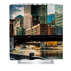 Dearborn Bridge Shower Curtain
