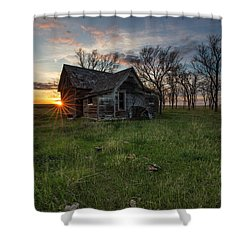 Dearly Departed Shower Curtain by Aaron J Groen