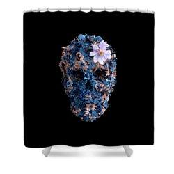Skull 9 T-shirt Shower Curtain