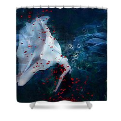 Death Of Ophelia Shower Curtain