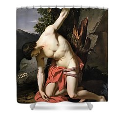 Death Of Saint Sebasian Shower Curtain