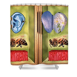 Death Of The Canadian Bee Shower Curtain