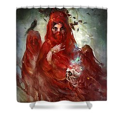 Death Shower Curtain
