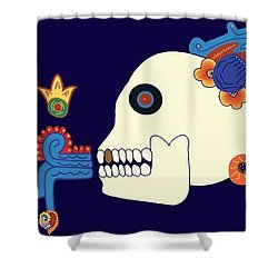 Death The Advisor Shower Curtain