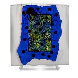 Death To Four Ants And A Fly Shower Curtain