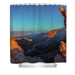 Death Valley 1 Shower Curtain
