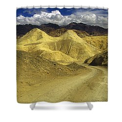 Death Valley, California Shower Curtain