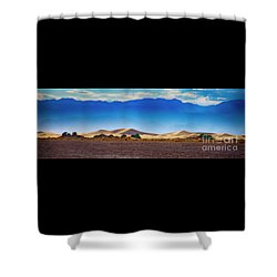 Death Valley Dunes Shower Curtain