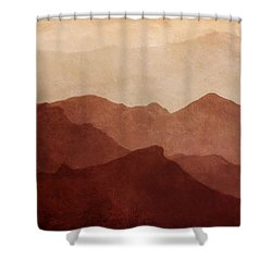 Death Valley Shower Curtain by Scott Norris