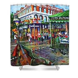 Decatur Street Shower Curtain by Dianne Parks
