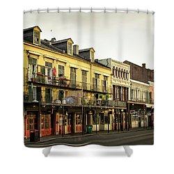 Decatur Street New Orleans Shower Curtain