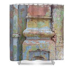 Shower Curtain featuring the photograph Decay by Jean luc Comperat