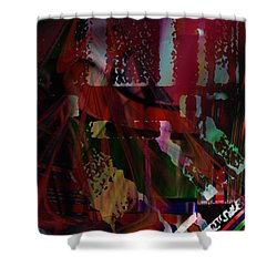 Decay Of Civilization Shower Curtain by Kevin Caudill