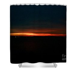 December Dawn,  Rays Of Hope  Shower Curtain