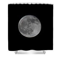December Moon Shower Curtain