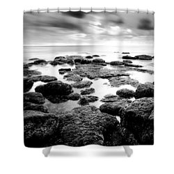 Decisions Shower Curtain by Ryan Weddle
