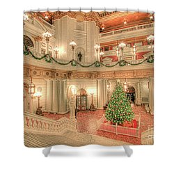 Deck The Hall Shower Curtain