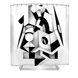Decline And Fall 1 Shower Curtain