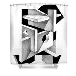 Decline And Fall 10 Shower Curtain