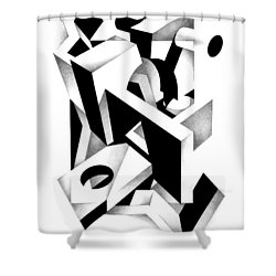 Decline And Fall 11 Shower Curtain