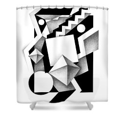Decline And Fall 13 Shower Curtain