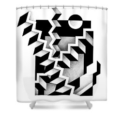 Decline And Fall 14 Shower Curtain