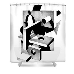 Decline And Fall 15 Shower Curtain