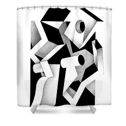 Decline And Fall 17 Shower Curtain