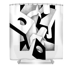 Decline And Fall 2 Shower Curtain