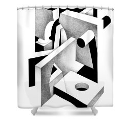 Decline And Fall 20 Shower Curtain