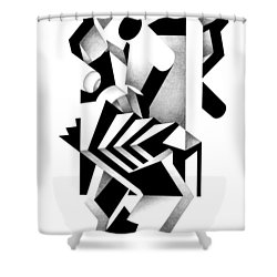 Decline And Fall 21 Shower Curtain