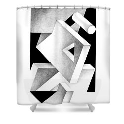Decline And Fall 4 Shower Curtain