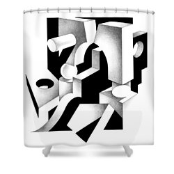 Decline And Fall 5 Shower Curtain